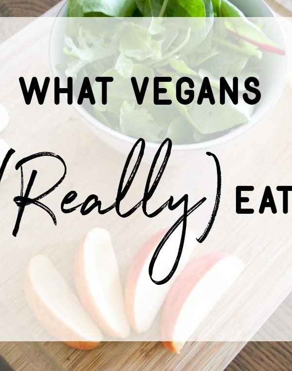 What Vegans Really Eat (Ensley Edition)