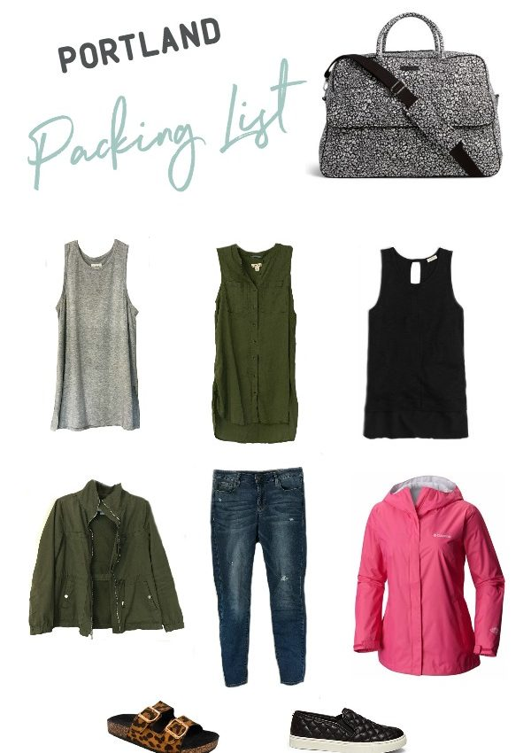 My 5 Minutes of Fame + Portland Packing List