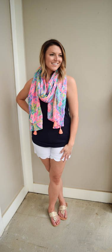 Scallop Shorts Part 1: Preppy + Casual