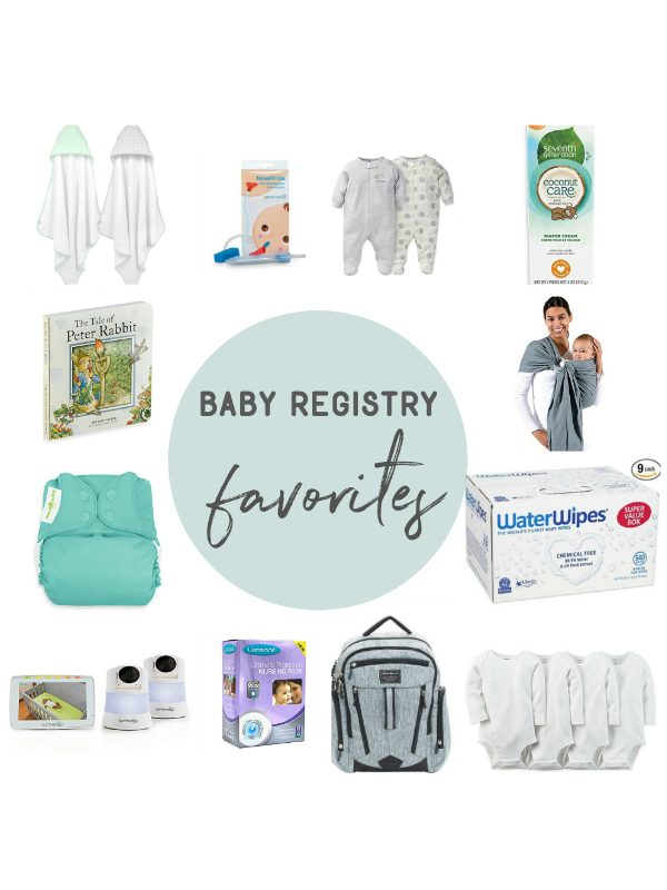 Kendra's Baby Registry Favorites