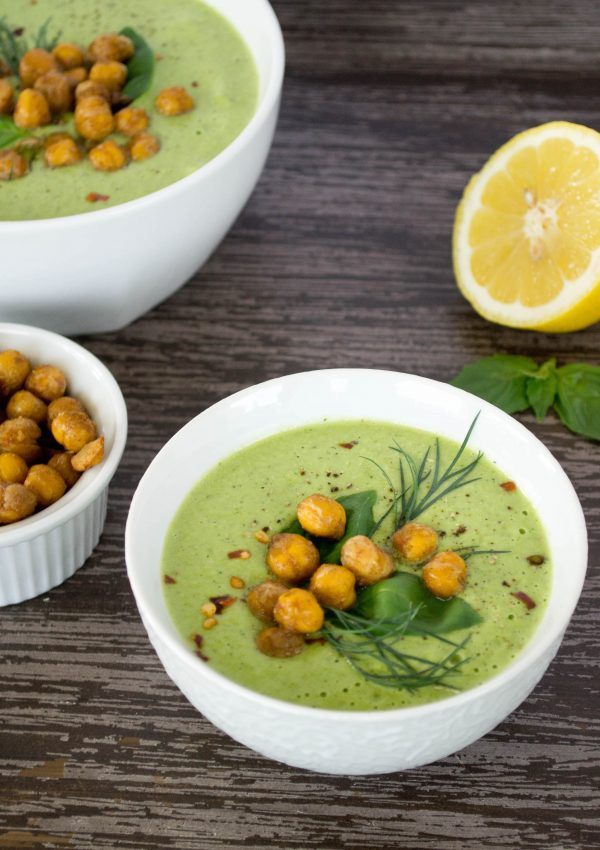 Chilled Cucumber Tahini Soup