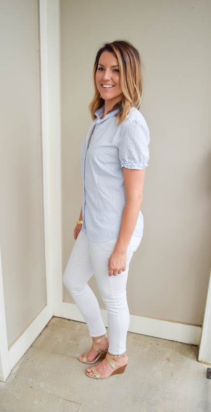 white jeans part 3: preppy to the max