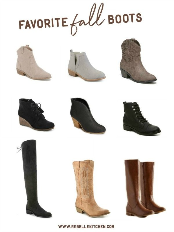 Our Favorite Fall Boots