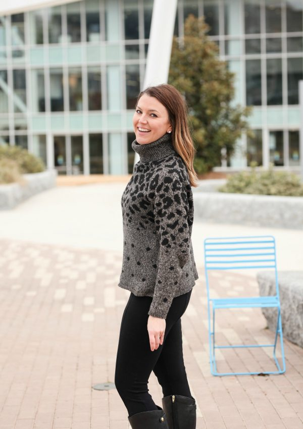 Cozy Chic : My Favorite Leopard Sweater