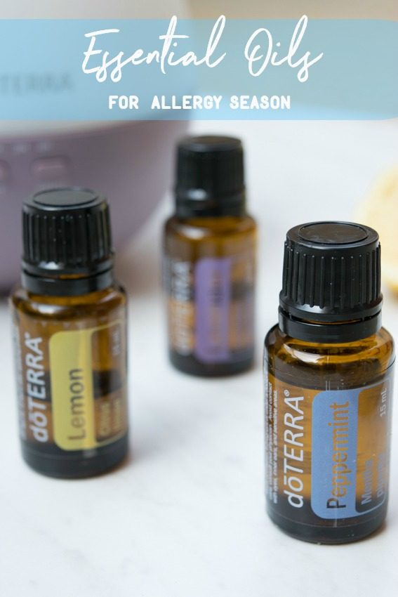 Essential Oils for Allergy Season