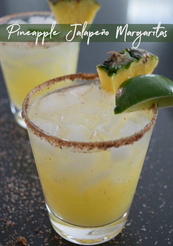 Pineapple Jalapeño Margaritas