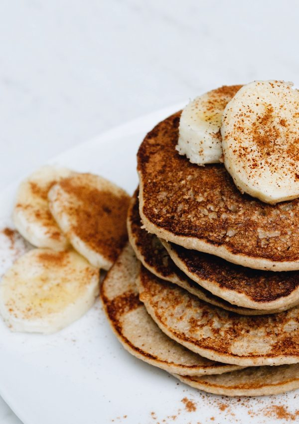 Vegan Banana Oat Pancakes For The Whole Family