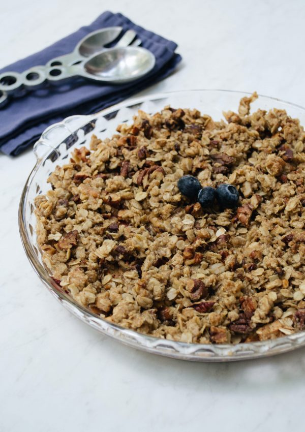Vegan Fresh Fruit Crisp