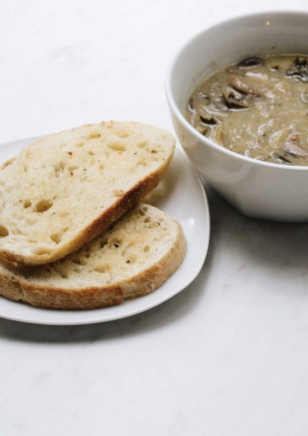 Creamy Wild Mushroom Soup: Easy Slow-Cooker Meal